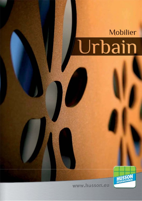 Catalogue mobilier urbain Husson